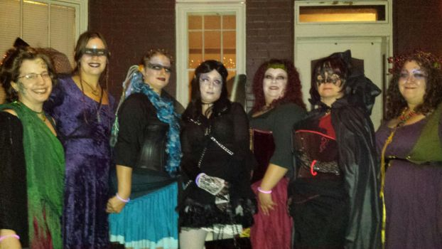 Gaggle of Faerie Gothmothers by tkoverkamp