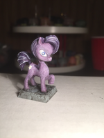Purple Earth Pony Table-Top Miniature by NPCtendo
