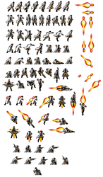 Jetpack Scientist Sprite Sheet by The-Russian-Gestapo
