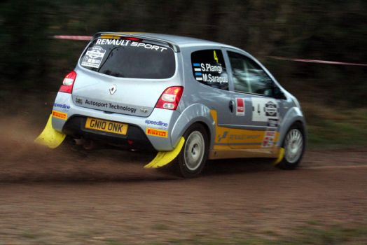 Twingo rally car by adam-mccartney