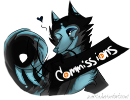 Commissions by Zarria