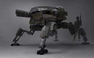 ID-7 army mech patrol design by LMorse
