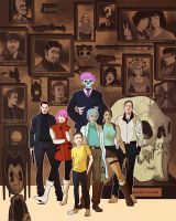 League of Extraordinary Gentlemen: Diamond Dogs by A-Fox-Of-Fiction