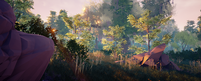 forest by Ssendm