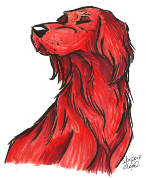 Brush Breeds-Irish Setter by Stray-Sketches