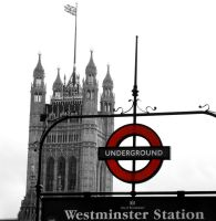 Westminster Station by TheGreenRabbit