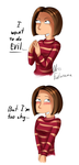 Too Shy for Evil by MissFuturama