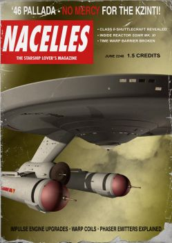 Nacelles magazine cover by thefirstfleet