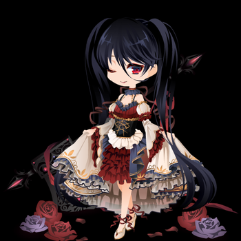 # 150 gacha ~Gothic vampire~ by Paper-Doll-Adopts