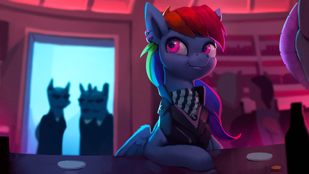Rainbow Dash Wanted by Rodrigues404