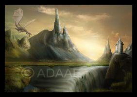 Enchanted Land by Adaae