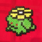 Pokemon Skiploom Perler Bead Deco by piggyfan2