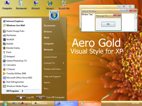 Aero Gold by Vher528