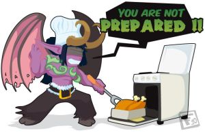 You are not prepared by fatal-failure