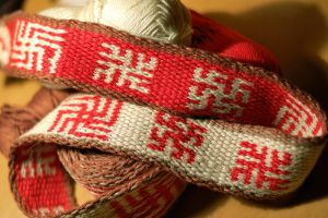 Tablet weaving 4c by veruce