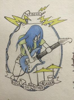 Rock On Girl by klee12