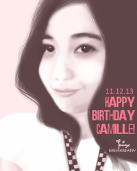 happy birthday camille by mispapot