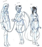 Groupies by y2hecate