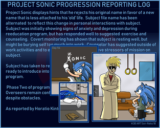 Project Sonic Progression Report Log by Son-Neko