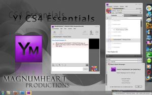 YM Themes : Adobe CS4 Skin by MAGNUMHEARTED