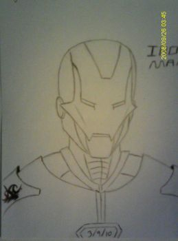 My First Ironman sketch by Spector-Q