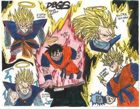 Future Gohan DBGS by SquareFanatic