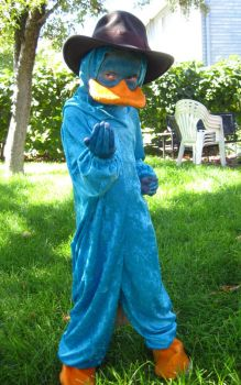 Perry the Platypus Cosplay by Utukki-Girl