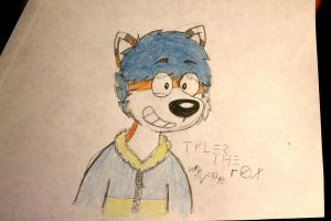 [GIFT] Tyler the Fox by AygoDeviant