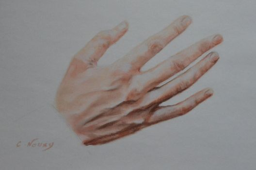 Tom's Hand 21 'On Stage' by Andromaque78