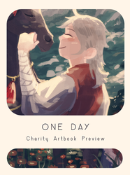 A Day Artbook Preview by tanaw