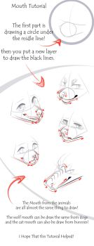 Mouth Tutorial! by CristalWolf567