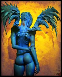 Angel blue by pascalblanche