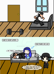 (walfas) After I exercised.... (IRL) by Godeung