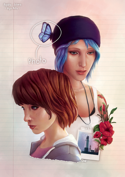 Life is Strange - Always looking by ayu-ai