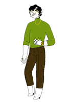green turtleneck by triple65forkedtongue