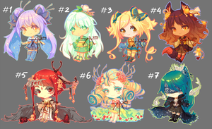 [8] [CLOSED] Auction - chibi adopts mix! by Hell-Alka