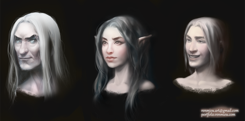 Face Concepts by Renmiou