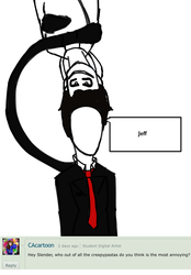 Ask 16 ~ Slender and the annoying Jeff by KikiFun
