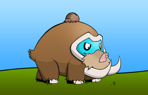 Mamoswine and Swinub