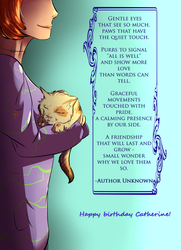 What is a Cat? - Gift by Sarn-Elyren