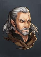 Commissons - Geralt by Kira-Mayer