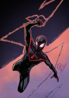 Ultimate Spider-man colors by JoeyVazquez