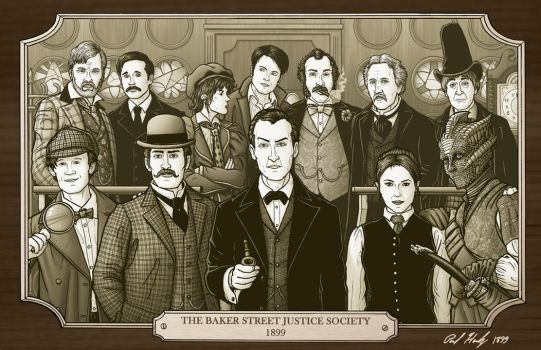 The Baker Street Justice Society by PaulHanley