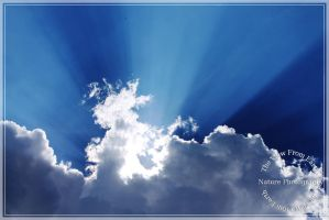 Yet more clouds with rays by Ankh-Infinitus
