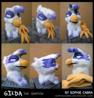 Gilda the Griffon by SpainFischer