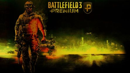 BF3 Premium Gold Wallpaper by CRYPT1CPH4ANT0M