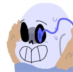 angery snes the skeleinton by charareapertale
