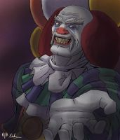 -- Halloween Contest -- Heihachi Pennywise by sarrus