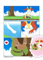 *C* Quilladin's Fire Lily Page 1/2