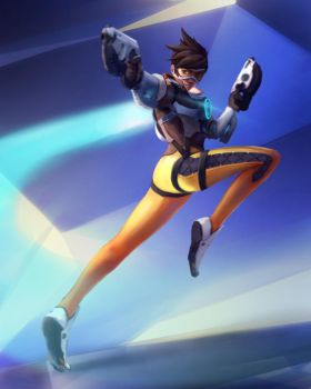 Overwatch Tracer by Dinhosaur